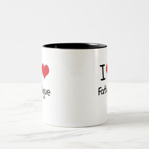 Amo cansancio taza