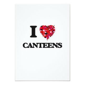 """Amo cantinas invitación 5"""" x 7"""""""