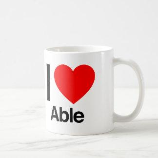 amo capaz taza