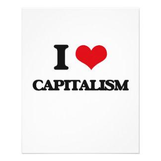 "Amo capitalismo folleto 4.5"" x 5.6"""