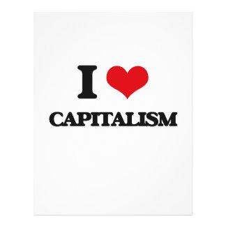 "Amo capitalismo folleto 8.5"" x 11"""