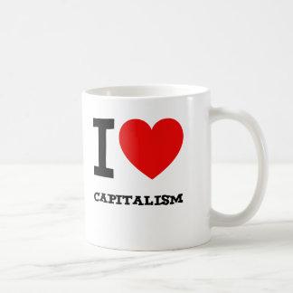 Amo capitalismo taza clásica