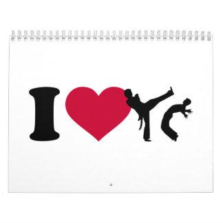 Amo Capoeira Calendario