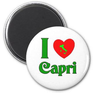 Amo Capri Italia Imán Redondo 5 Cm