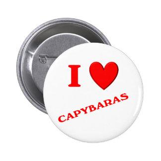 Amo Capybaras Pins