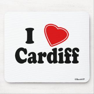 Amo Cardiff Alfombrilla De Ratón