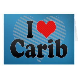 Amo Carib Tarjeta De Felicitación