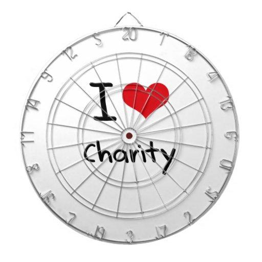 Amo caridad tabla dardos