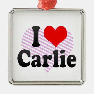 Amo Carlie Adorno De Navidad