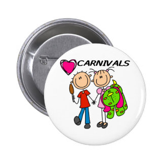 Amo carnavales pins