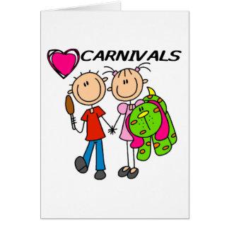 Amo carnavales felicitaciones