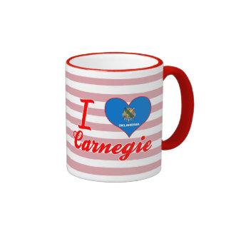 Amo Carnegie, Oklahoma Tazas De Café