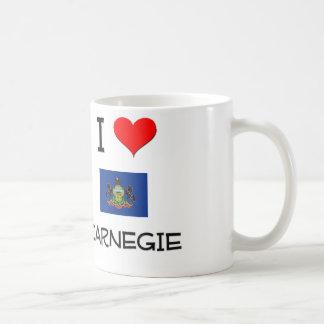 Amo Carnegie Pennsylvania Taza De Café