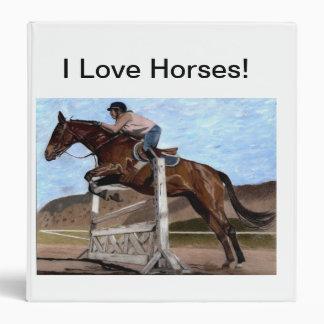 """""""Amo carpeta del cuaderno de los caballos"""""""