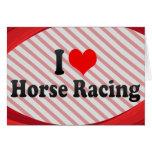 Amo carrera de caballos felicitaciones