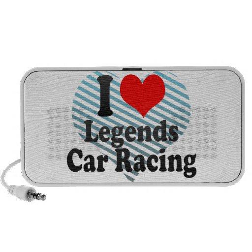 Amo carreras de coches de las leyendas altavoz
