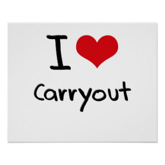 Amo Carryout Poster