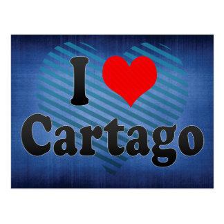 Amo Cartago, Colombia Postales