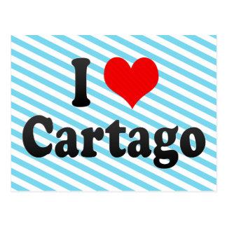Amo Cartago, Colombia Tarjetas Postales