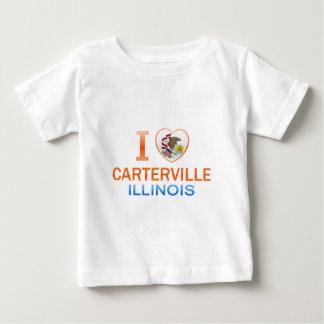 Amo Carterville, IL Camisetas