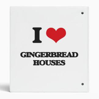 Amo casas de pan de jengibre