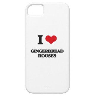 Amo casas de pan de jengibre iPhone 5 protectores