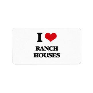 Amo casas de rancho