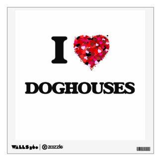 Amo casetas de perro
