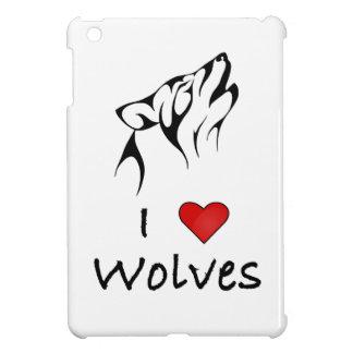 Amo caso de Ipad de los lobos el mini