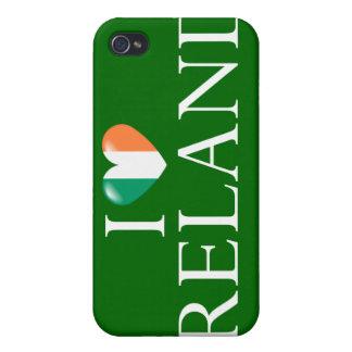 Amo caso del iPhone 4 de Irlanda iPhone 4/4S Funda