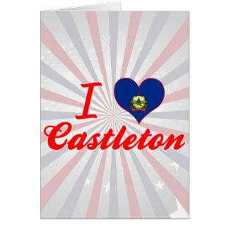 Amo Castleton, Vermont Felicitación