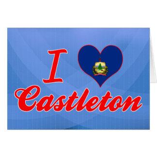 Amo Castleton, Vermont Tarjeton