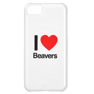 amo castores funda para iPhone 5C
