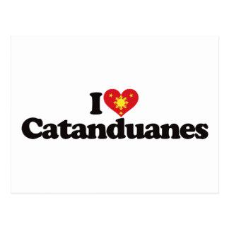 Amo Catanduanes Tarjeta Postal