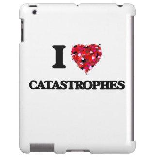 Amo catástrofes funda para iPad