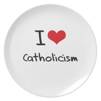 Amo catolicismo platos para fiestas