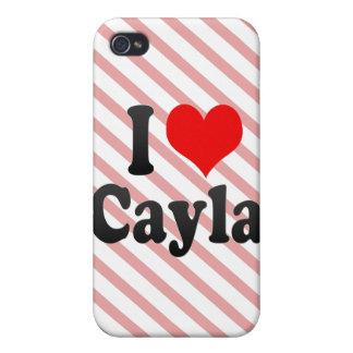 Amo Cayla iPhone 4 Cobertura