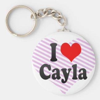 Amo Cayla Llaveros Personalizados
