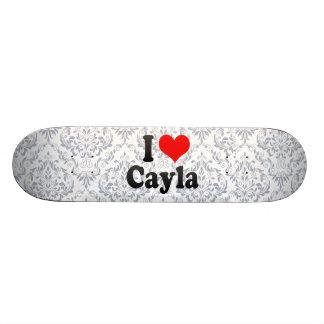 Amo Cayla Patines Personalizados