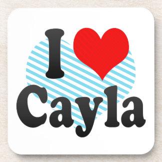 Amo Cayla Posavasos De Bebida