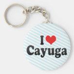 Amo Cayuga Llaveros
