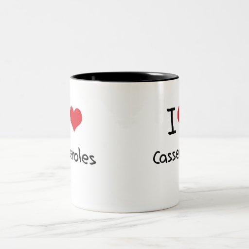 Amo cazuelas taza de café