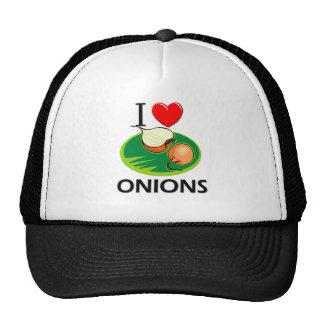 Amo cebollas gorra