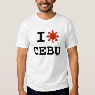 Amo Cebú Filipinas Poleras