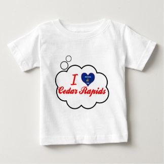 Amo Cedar Rapids, Wisconsin Camiseta
