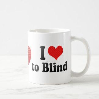 Amo cegar taza de café