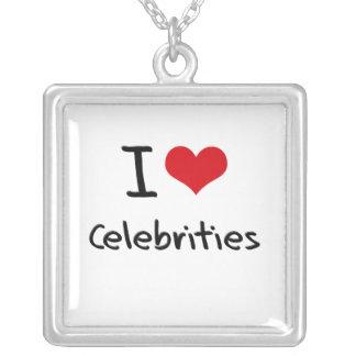 Amo celebridades colgantes personalizados
