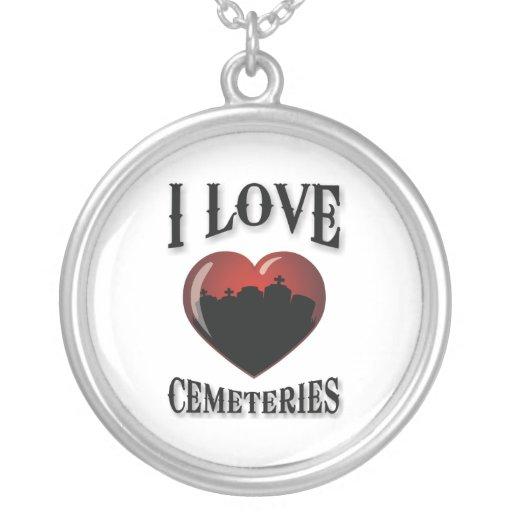 Amo cementerios colgante redondo
