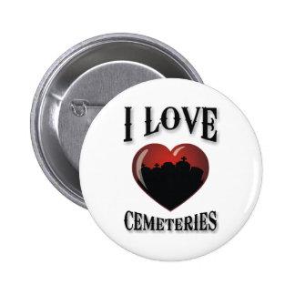 Amo cementerios pins