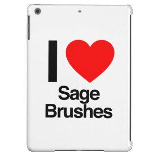 amo cepillos sabios funda para iPad air